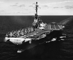 The second USS Lexington, AVT-16.