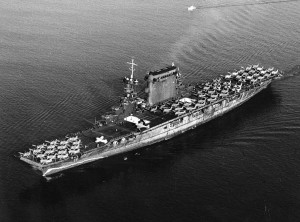 The first aircraft carrier to bear the name, Lexington.