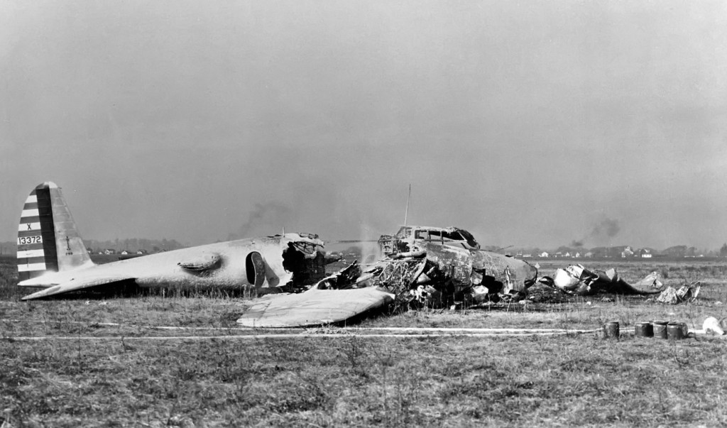 After the crash of the Model 299. Crash resulted from failure to remove the gust locks prior to takeoff.