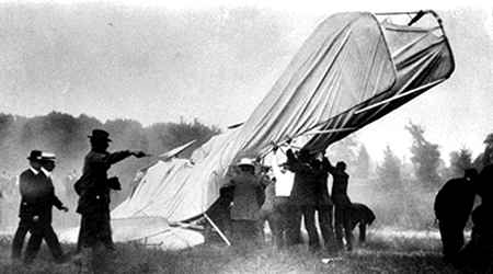 The Wright Flyer Crash